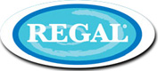 Regal Logo - Contact us in Pensacola, Florida, for top-of-the-line hot tubs, tanning beds, and outdoor kitchens.